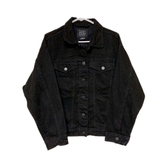 Urban Outfitters Jackets & Blazers - Urban Outfitters BDG Black Denim Jacket Medium